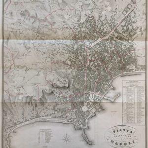Pianta della Città di Napoli - Zuccagni Orlandini Edit. & G. Maina Inc.