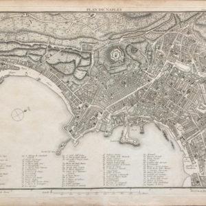 Plan de Naples - Lalande Joseph J.