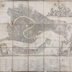 Nuova Pianta dell'Inclita Città di Venetia - Ughi Ludovico