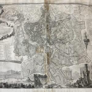 Pianta topografica di Roma - Nolli Giovan Battista Piranesi Giovan Battista