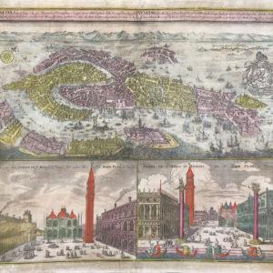 Venetia potentissima e la più magnifica fiorentissima e la più ricca città capitale della Serenissima repubblica - Seutter Matteus