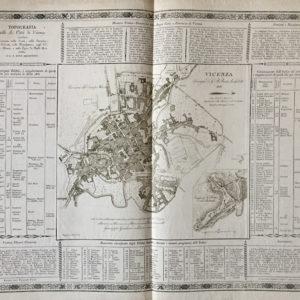 Topografia della R. città di Vicenza - pasquali da giovan battista berti