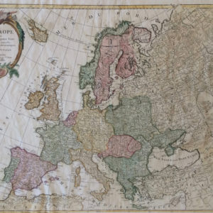 L'Europe divisée en ses principaux Etats - Santini Remondini