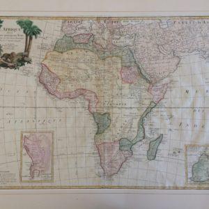 L'Afrique divisée en ses principaux Etats - Santini Remondini