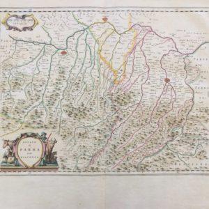 Ducato di Parma e Piacenza - Blaeu Joan