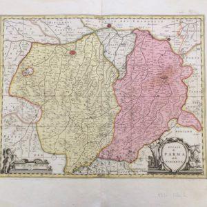 Ducato di Parma e Piacenza - P. Schenk G. Valk