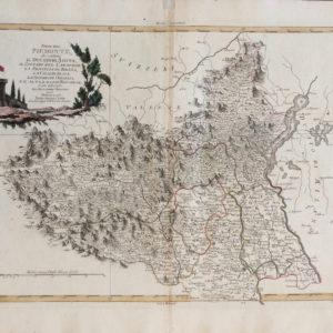 Parte del Piemonte che contiene il Ducato di Aosta, il Contado del Canavese, la Provincia di Biella, la Valle di Sesia, e l'alto e basso Novarese - Zatta Antonio