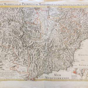 Partie Meridionale du Piémont et Montferrat - Delisle Guillaume & Philippe Buache