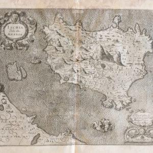 Ischia Isola olim Aenaria - Magini Giovanni Antonio