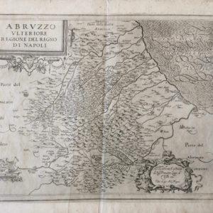 Abruzzo Ulteriore. Regione del Regno di Napoli - Magini Giovanni Antonio