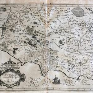 Campagna di Roma, Olim Latium - Magini Giovanni Antonio
