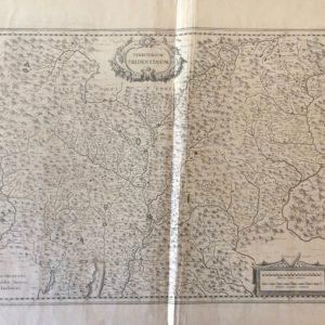 Territorium Tridentinum - Janssonius Johannes