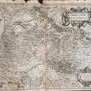 Umbria, overo Ducato di Spoleto - Magini Giovanni Antonio