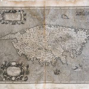 Corsica Isola, olim Cyrnus - Magini Giovanni Antonio