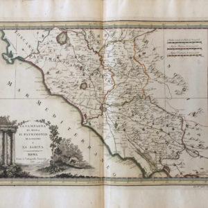 La campagna di Roma, il Patrimonio di San Pietro e la Sabina - Cassini Giovanni Maria