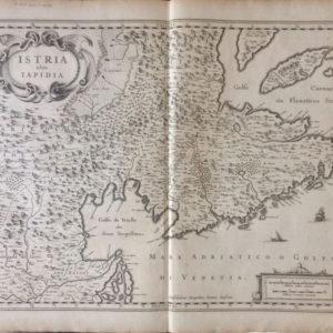 Istria olim Iapidia - Janssonius Johannes