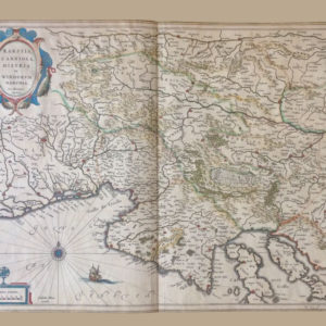 Karstia, Carniola, Histria et Windorum Marchia - Mercatore Gerardo
