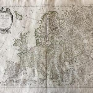 L'Europe divisée en ses principaux Etats - Santini Paolo