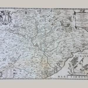 Tavola Esatta dell'antico Latio E Nova Campagna di Roma - De Rossi Giacomo