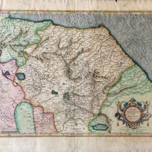 Marchia Anconitana cum Spoletano Ducatu - Mercatore Gerardo