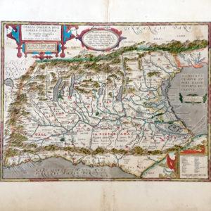 Italia Gallica, Sive Gallia Cisalpina - Ortelius Abraham