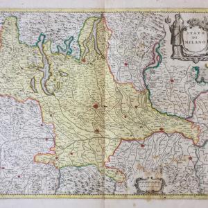 Stato di Milano - Blaeu Joan