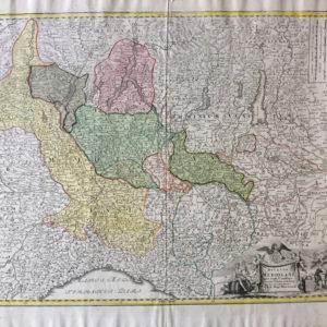 Ducatus Mediolani - Homann Johan Baptist