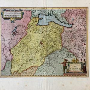 Territorio di Verona - Janssonius Johannes