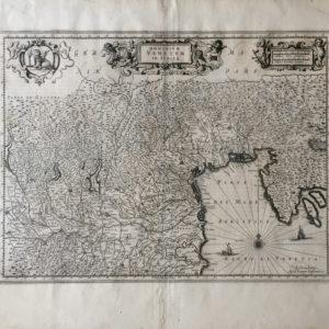 Dominium Venetum in Italia - Janssonius Johannes