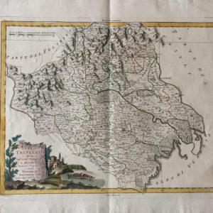 Il Trevisano diviso nei suoi territori e distretti - Zatta Antonio