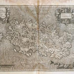 Isola di Sardegna - Magini Giovanni Antonio