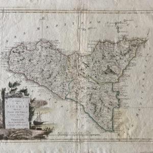 L'Isola di Sicilia divisa nelle sue Valli - Zatta Antonio