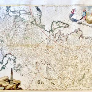 Tabula Geographica Generalis Imperii Russici - Trescott John Schmidt Jakob