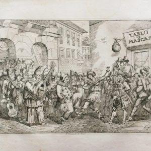 Il Carnevale di Roma - Pinelli Achille