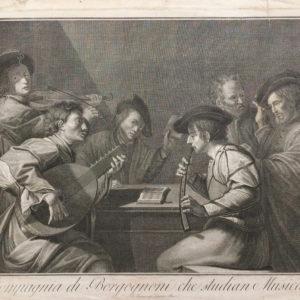 Compagnia di Borgognoni che studian Musica - Cecchi Giovanni Battista