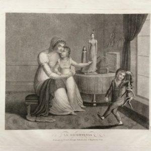 La Ricompensa. Scene di vita casalinga - Vallardi Pietro e Giuseppe