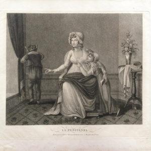 La Penitenza. Scene di vita casalinga - Vallardi Pietro e Giuseppe