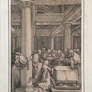 Presentazione di Gesù al tempio. Vita della Vergine - Raimondi da Dürer Albrecht
