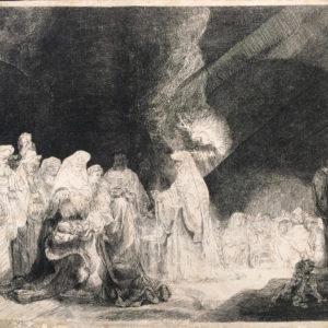 Presentazione al tempio. 5/5, Controparte - Rembrandt Harmenszoon van Rijn