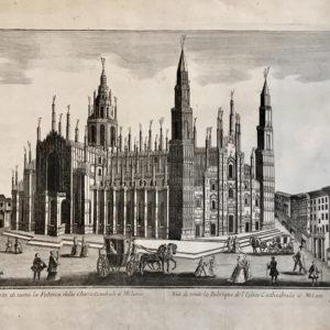 Prospeto di tutta la Fabrica della Chiesa Catedrale a Milano - Remondini