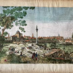 Veduta immaginaria di Padova - Antonio Canal (Canaletto) Remondini