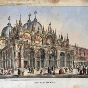 Basilica di San Marco - Litografia Fontana