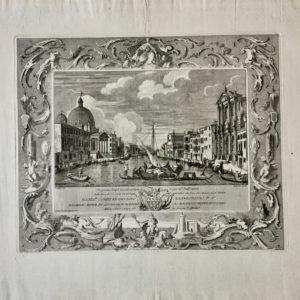 Il Canal Grande dalla Chiesa degli Scalzi - Giampiccoli Giuliano