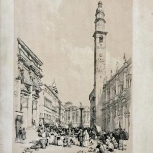 Veduta di Piazza dei Signori a Vicenza - Moore