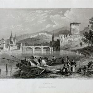 Veduta di Verona - Frommel