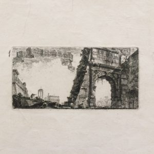 Arco di Tito in Roma - Piranesi Giovan Battista