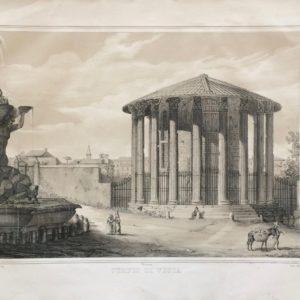 Tempio di Vesta - Barzotti Danesi