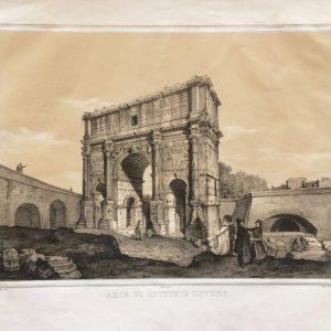 Arco di Settimio Severo - Barzotti Danesi