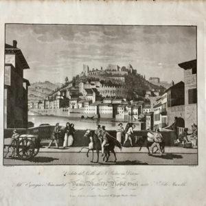 Veduta del Colle di San Pietro in Verona - Bennassuti