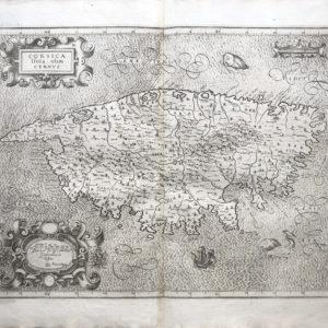 CORSICA ISOLA OLIM CYRNUS - Magini Giovanni Antonio